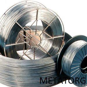 Проволока стальная сварочная Св-06Х14