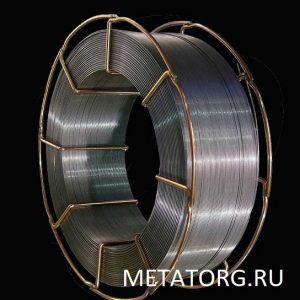 Проволока стальная сварочная СВ-06Х19Н10М3Т