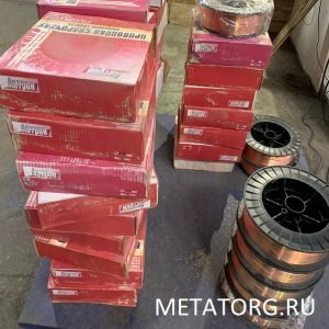 Проволока стальная сварочная Св-08Г2С
